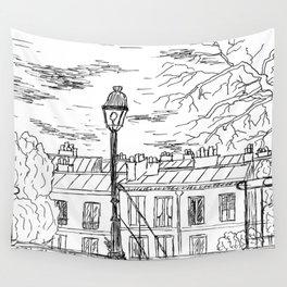 Street in Paris Wall Tapestry