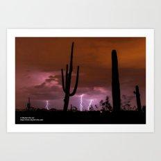 Monsoon Vision Art Print