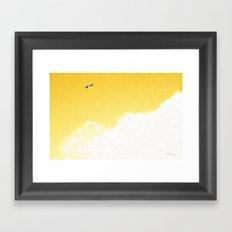 Being Together Framed Art Print