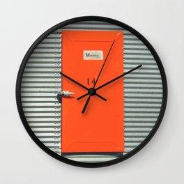 Door 14 Wall Clock