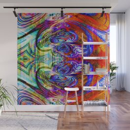 abstract fn Wall Mural