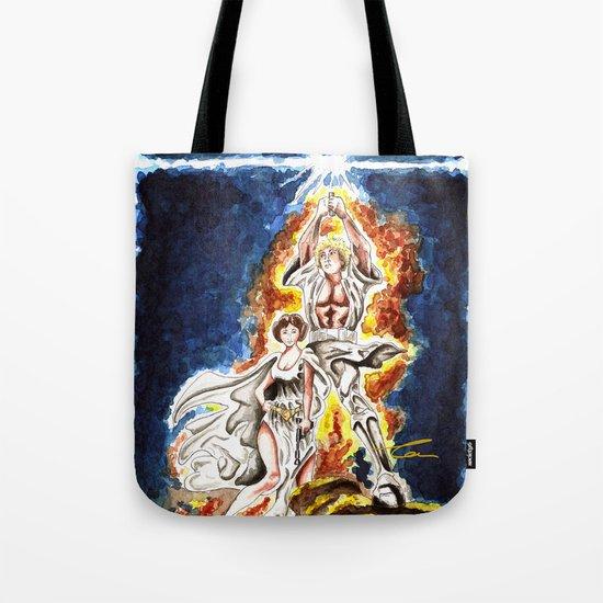 STAR WARS: A New Hope Watercolor Tote Bag