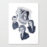 ripley Canvas Prints featuring Ripley by scoobtoobins