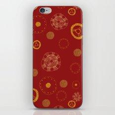 Arc Reactor Polka Dots iPhone & iPod Skin