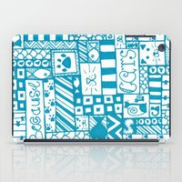 because cats iPad Cases featuring Because Cats by Lizzy East