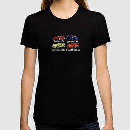 Sports cars BEST SELLER T-shirt