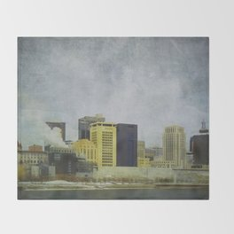 St. Paul Riverfront Throw Blanket