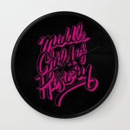 Middle Child of History Wall Clock