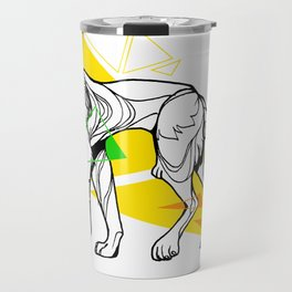 Primary dogs XVII: Don't lose your head! Travel Mug