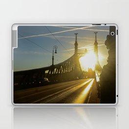 Liberty Bridge Sunset Laptop & iPad Skin