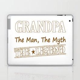 Grandpa The Legend Laptop & iPad Skin