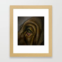 Houndsight Framed Art Print