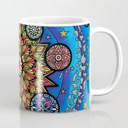 Solar System Mandalas Coffee Mug