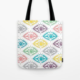 """I see you"" 80s eye pattern Tote Bag"