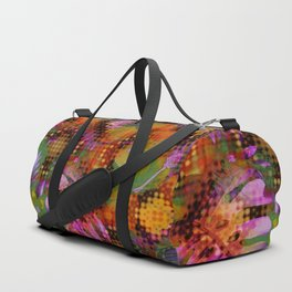 floral ghosts Duffle Bag