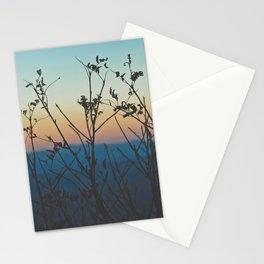 Blue Ridge Mountain Sunset (Asheville, North Carolina) Stationery Cards
