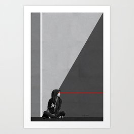 see things from a different perspective Art Print
