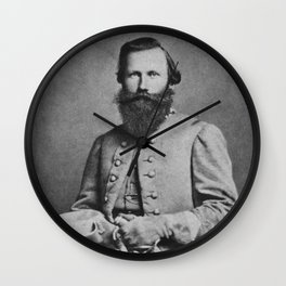 General J.E.B. Stuart Wall Clock