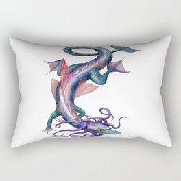 Dragons/Water Dragon Rectangular Pillow