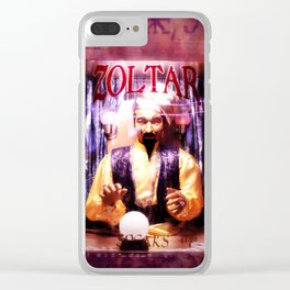 Zoltar Clear iPhone Case