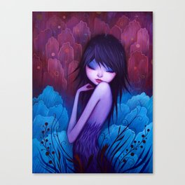 She Knows Canvas Print
