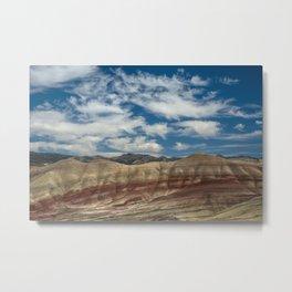 Colorful Painted Hills of Oregon Metal Print