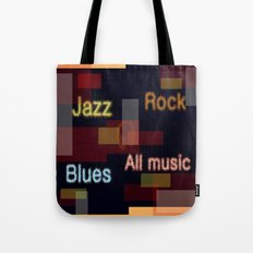 ALL MUSIC Tote Bag
