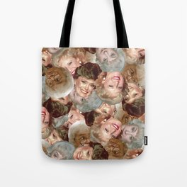 Golden Girls Toss Tote Bag