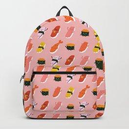Sushi Kawaii Pink Backpack