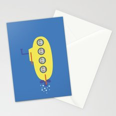 The Beagles - Yellow Submarine Stationery Cards