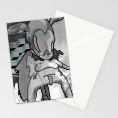 Urban Character Stationery Cards