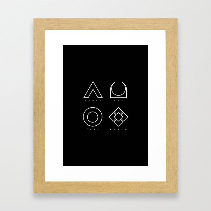 PAUSE – RAID Framed Art Print