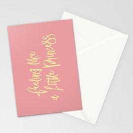 Feeling like a little princess Stationery Cards