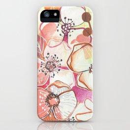 Sloppy Poppy iPhone Case
