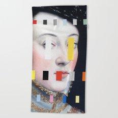 Portrait With A Spectrum 4 Beach Towel