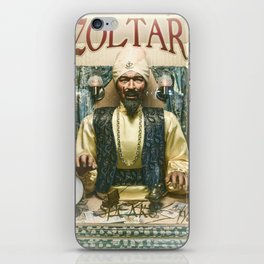 Zoltar the fortune teller London England UK iPhone Skin