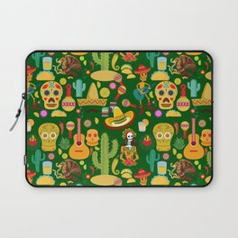 Fiesta Time! Mexican Icons Laptop Sleeve