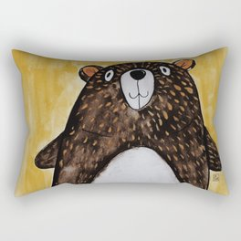 Mr. Bear Rectangular Pillow