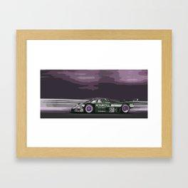 Group C Race Car Framed Art Print