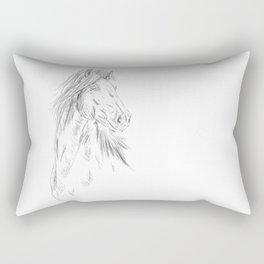 Friesian Rectangular Pillow