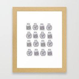 Thyme for Some Lemonade Framed Art Print