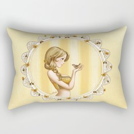 The Spring Collection: Fauna Rectangular Pillow