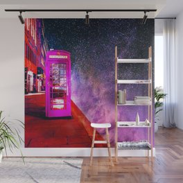 SPACE PHONE ON JUPITER Wall Mural