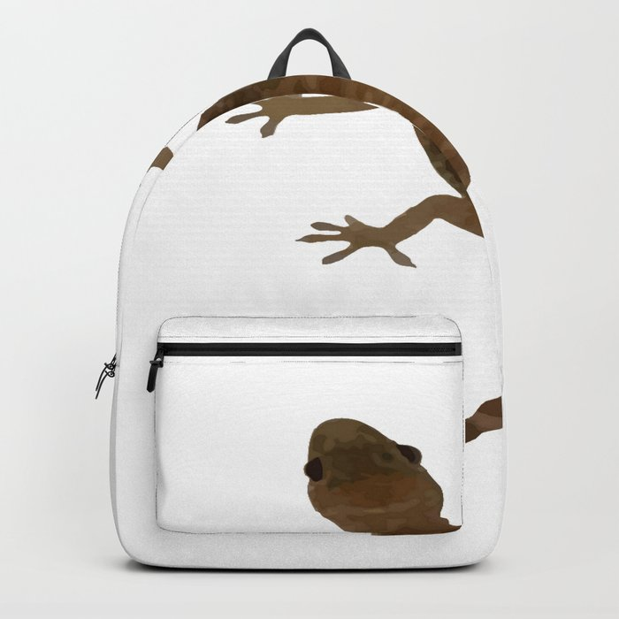 Mediterranean House Gecko Vector Backpack By Taiche Society6