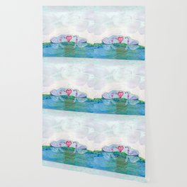 Swan Love Wallpaper