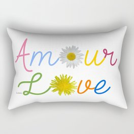 Amour Love Rectangular Pillow