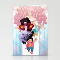 steven universe Stationery Cards featuring Steven by clayscence