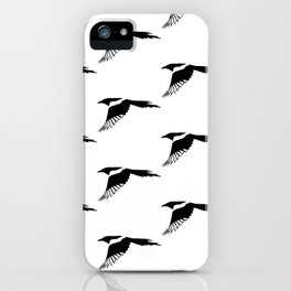 Pica Pica (magpie) many Galery Giftshop iPhone Case