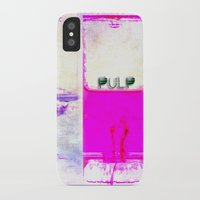 pulp iPhone & iPod Cases featuring Pulp by PeDSchWork