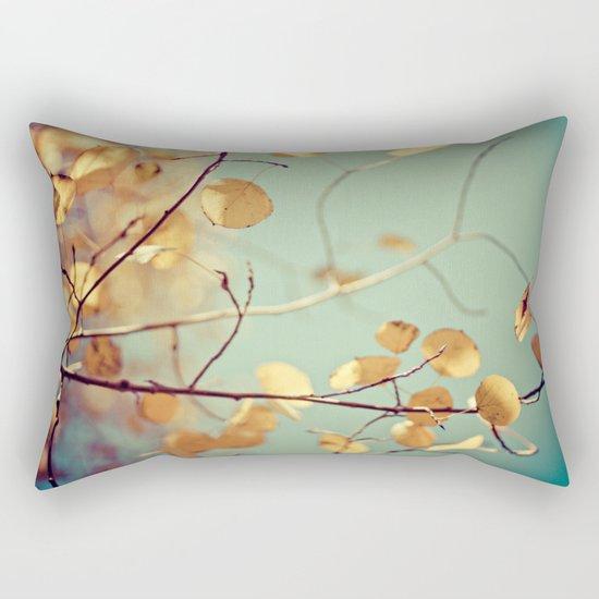 golden aspen Rectangular Pillow
